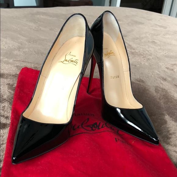 f9faa17b1e4 Christian Louboutin Shoes - Christian Louboutin point toe So Kate in Black
